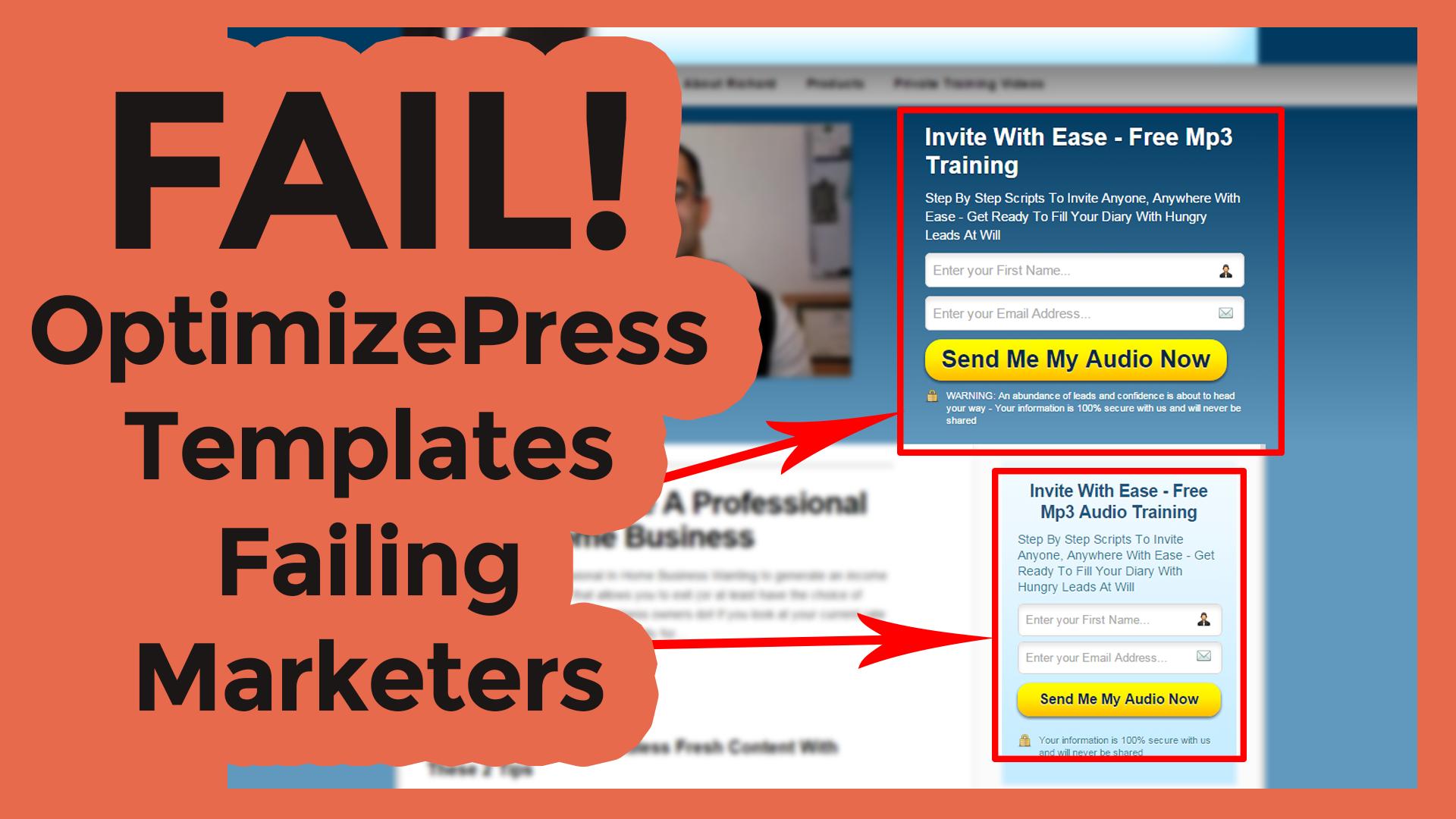 Optimizepress Templates Failing Marketers